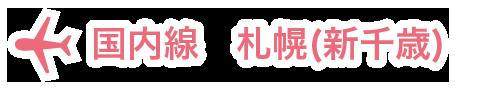 国内線 札幌(新千歳)