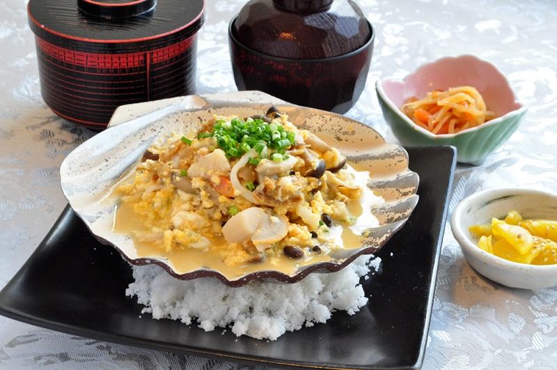 帆立貝焼き味噌