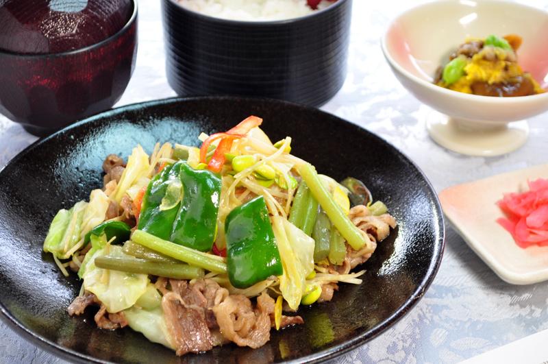 県産牛バラ肉スタミナ源焼き