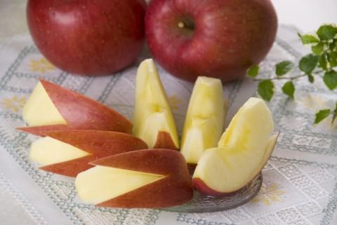 リンゴ写真 カット